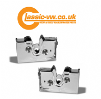 Chrome Door Lock Set, Mk1 Golf, Mk2 Golf, Jetta, Caddy, Cabrio, Polo